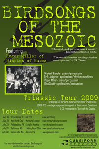 Triassic Tour Poster